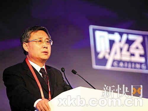 中国证券监督管理委员会主席郭树清。(梁斌/摄)
