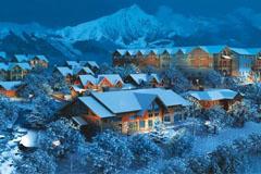 西岭雪山 滑雪过大年