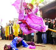 河南鹤壁:第四届鹤壁民俗文化节灯会