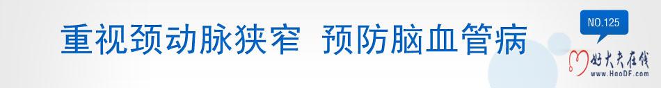 张东教授谈颈动脉狭窄与脑血管疾病