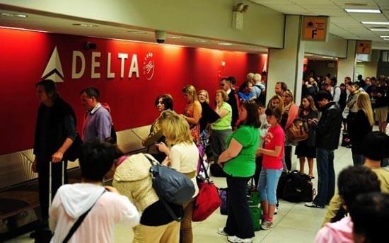 美国 芝加哥/芝加哥机场取行李处