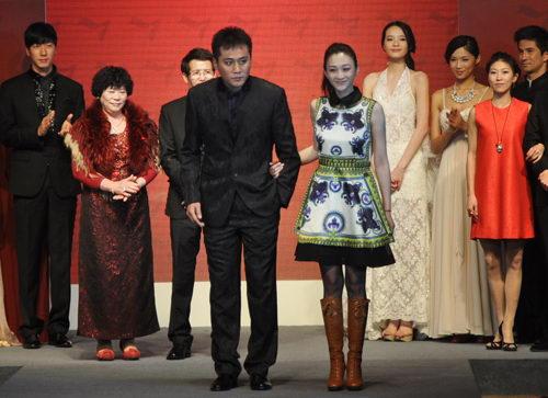 时尚 柒牌/柒牌情人节时尚派对暨2012新品发布会