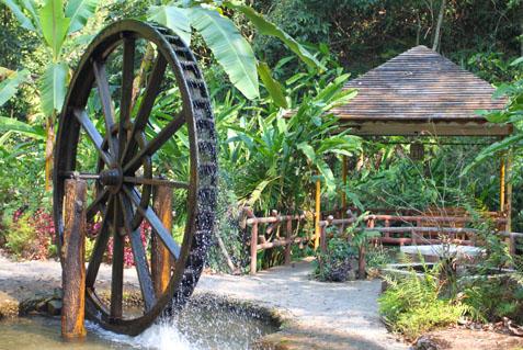 瑞丽莫里热带雨林景区水车