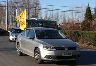 新速腾开路 SAA旗帜在飘扬
