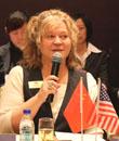北卡罗来纳大学国际招生官员 Linda L. Byrnes