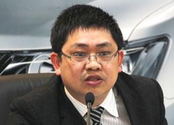 众泰新能源汽车公司总经理董炜江
