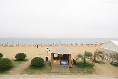 上海海滩风光