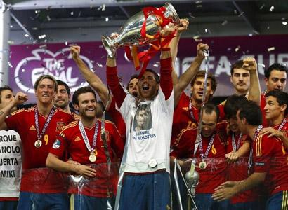 西班牙4-0意大利 成功卫冕创造历史