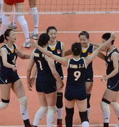 中国女排3-1土耳其获两连胜