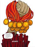 美国运动员 中国运动员 奥运会 伦敦奥运 运动员没文化