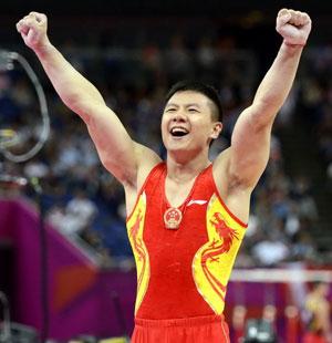 """体操男团为中国夺第九金 - 速记天地 - 速记天地是 宣传""""手写速记"""" 的阵地"""
