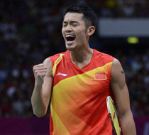 林丹夺羽毛球男单金牌
