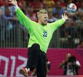 奥运图:瑞典手球队晋级四强 守门员舍斯特兰德