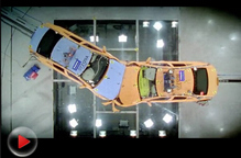 沃尔沃安全中心实车真实碰撞
