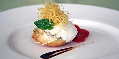 中国蟹的意国风 昆山瑞士酒店创新美食