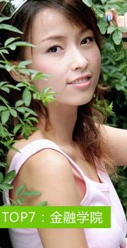 2012双节学长找个学妹去旅游美女的院系分布排行榜