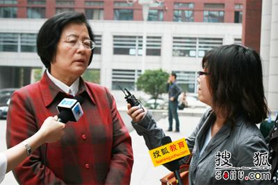 搜狐教育专访人民大学附属中学校长刘彭芝