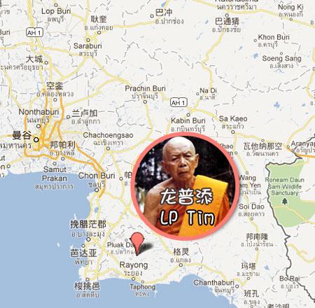 请佛牌自由行!泰国当红佛寺地理位置