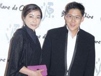 2012年4月郭晶晶霍启刚首度携手出席活动