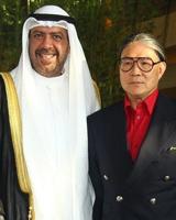 霍震霆亲迎科威特亲王