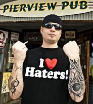 美国街头的纹身潮人