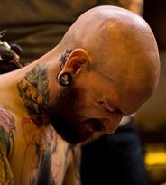 国际纹身大会 各路大师伦敦争相献艺