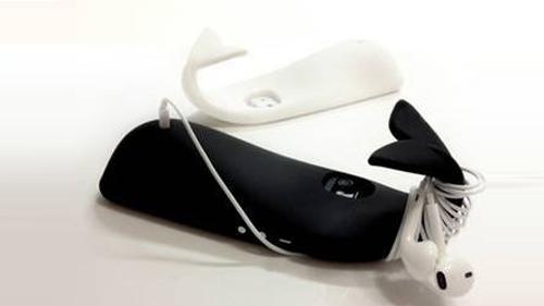 iphone5专用可爱鲸鱼手机壳