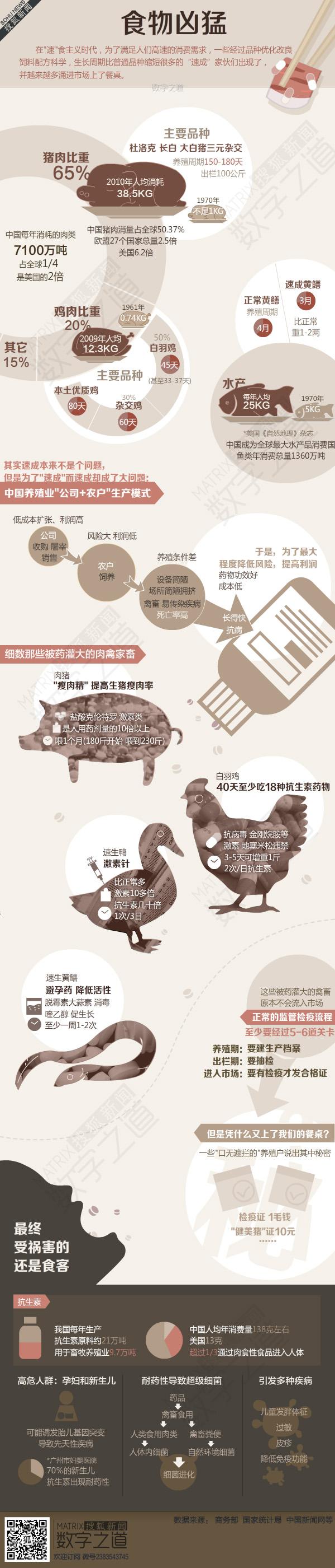 你吃的是肉还是毒 凶猛的食物 - SCI.OSIFU VEGAN - SCI.OSIFU VEGAN 素食有理