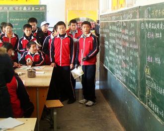 杜郎口中学:课堂学生做主