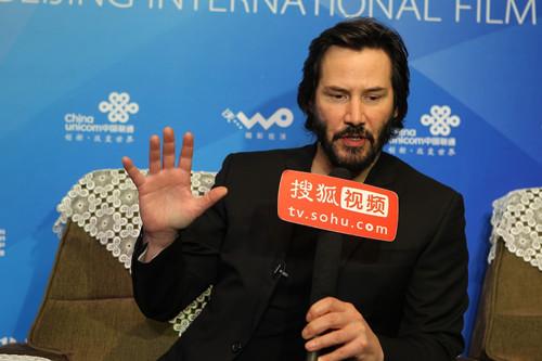 专访基努里维斯:《太极侠》只为陈虎而拍(点击进入组图)
