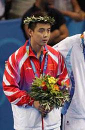 雅典奥运会获得亚军
