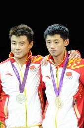 2012年奥运会 王皓男单亚军