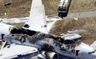 韩亚客机失事 拍摄者惊呼连连