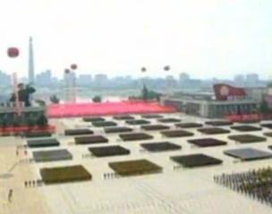朝鲜阅兵纪念停战60周年
