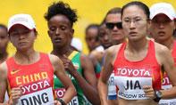 女子马拉松中国无牌遗憾