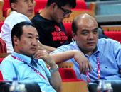 胡加时观战男篮青年组比赛