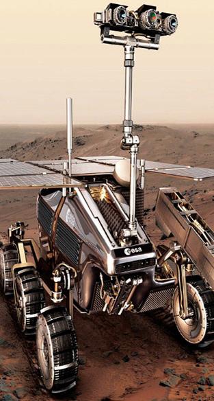 """欧洲""""火星生命""""计划中的火星漫游车"""