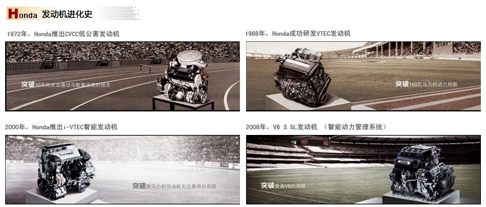 Honda发动机进化史