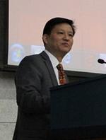 湖南师范大学副校长 蒋洪新教授