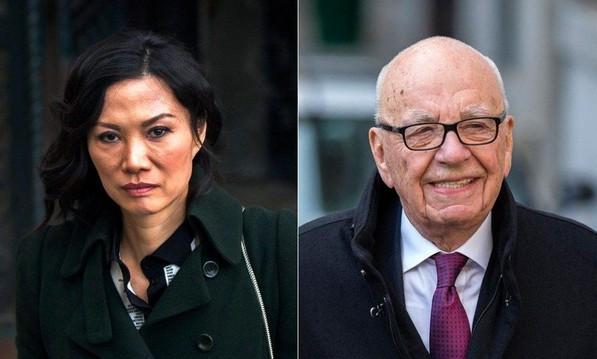 传媒富翁默多克与邓文迪离婚