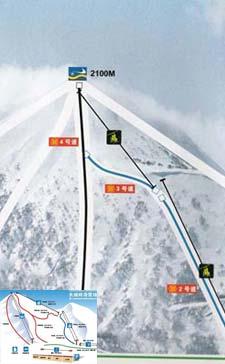 张家口长城岭滑雪场