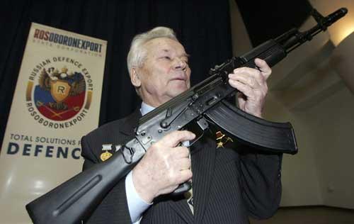 AK47之父和AK47