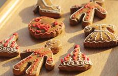 圣诞节学做姜饼饼干