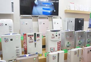 AWE2014:夏普展示全线空气净化器