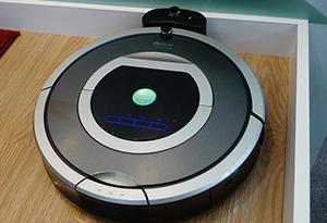 安静智能的iRobot扫地机器人现场试玩