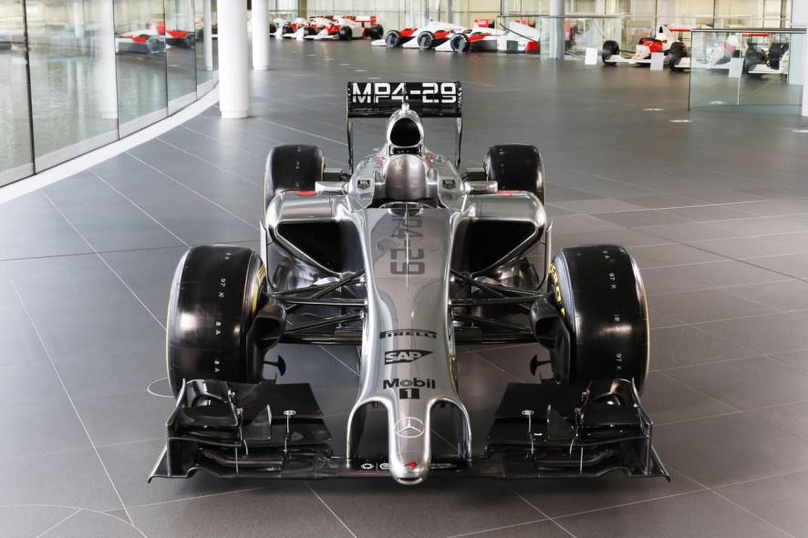 2014赛季F1新车