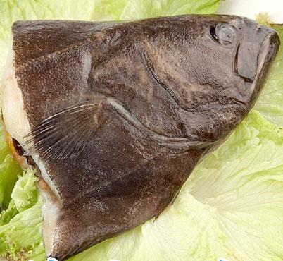 鲽鱼去内脏图解