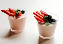 春日甜美草莓慕斯杯