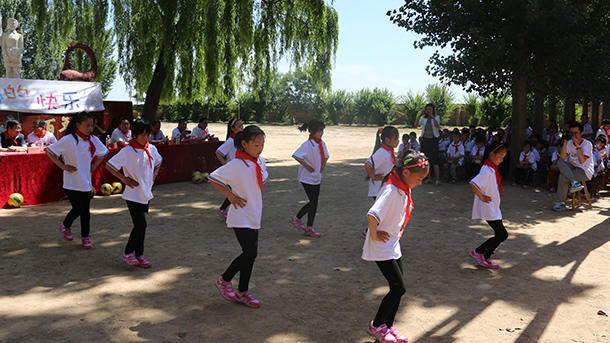 夏津县985个孩子实现足球梦