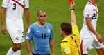 悍将染红乌拉圭1-3爆冷